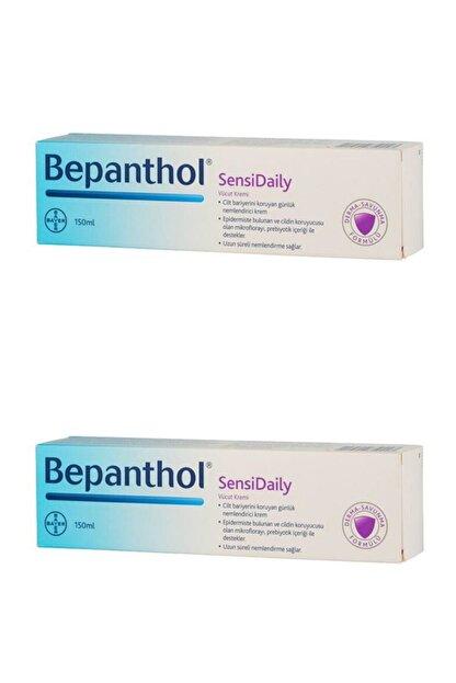 Bepanthol Sensidaily Prebiyotikli Vücut Kremi 150 ml 2 Adet