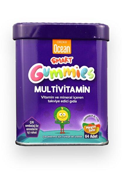 Orzax Ocean Smart Gummies Multivitamin 64 Adet Çiğnenebilir Jel Form