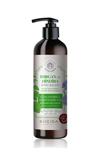 Sheida Aktive Shine Canlandırıcı Bakım Şampuanı 500 Ml