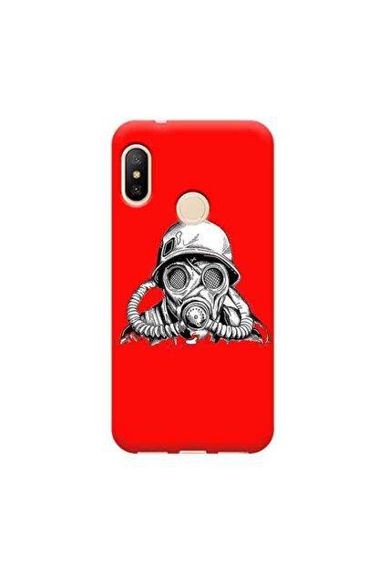 Kılıf Madeni Xiaomi Redmi Mi A2 Drınk Kırmızı Koleksiyon Telefon Kılıfı Y-krmklf215