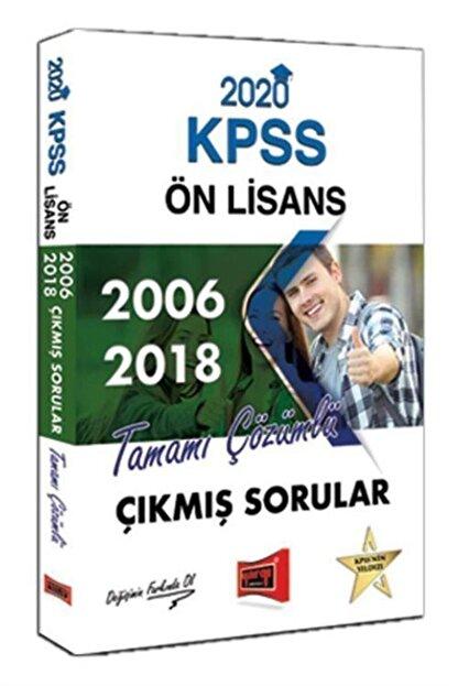 Yargı Yayınevi 2020 Kpss Ön Lisans 2006-2018 Tamamı Çözümlü Çıkmış Sorular