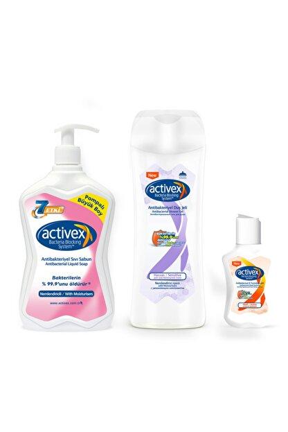 Activex Antibakteriyel Mini Banyo Hijyen Seti Aktif