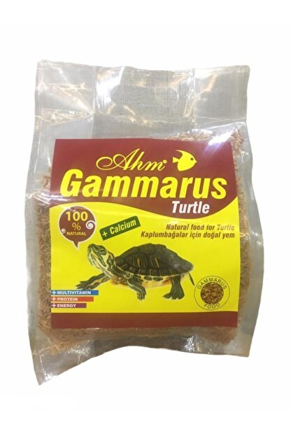 Ahm Gammarus Kaplumbağa Yemi Poşetli 250 gr
