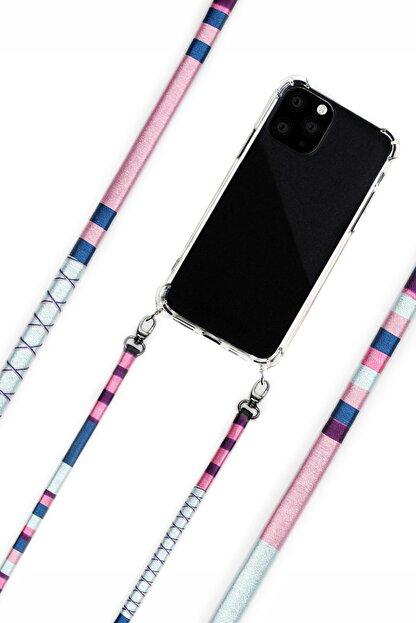 Vorson El Yapımı Iphone 11 Kılıflı Telefon Askısı - Laelia