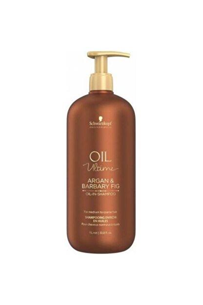 Schwarzkopf Schwarzkopf Oil Ultime Argan & Barbary Fig Şampuan 1000ml