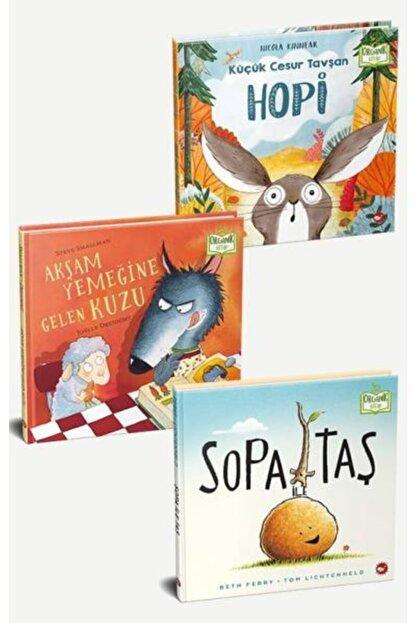 Beyaz Balina Yayınları Arkadaşlarımı Seviyorum Seti - 3 Kitap [organik Kitaplar]
