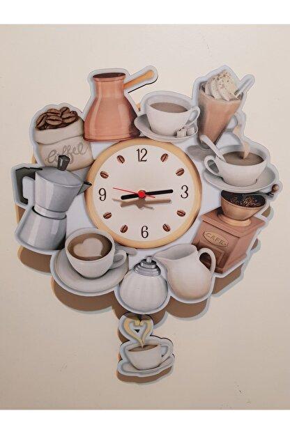 Hayal Dünyası Sallanır Sarkaçlı Mutfak Dekoratif Duvar Saati