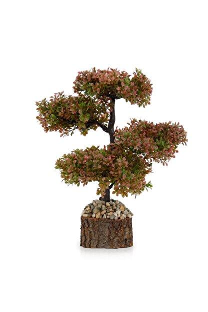 çiçekmisin Doğal Saksıda Dekoratif Çınar Yapay Ağaç
