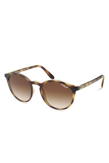 Vogue Kadın Yuvarlak Güneş Gözlüğü VO5215S W65613 51