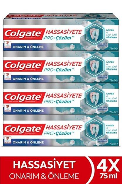 Colgate Hassasiyete Pro Çözüm Onarım Ve Önleme Pro Relief Diş Macunu 4x 75 ml