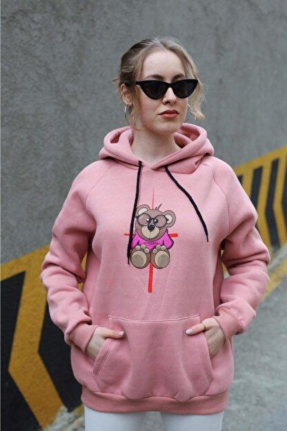 Sonsofsoo Kadın Şardonlu Sweatshirt