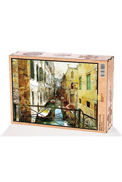 King Of Puzzle Kanal Venedik Ahşap Puzzle 2000 Parça