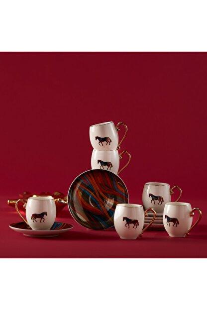 Karaca Cavallo 6 Kişilik Kahve Fincan Takımı