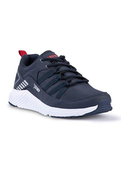 Jump Erkek Gri- Lacivert 24865 Ayakkabı