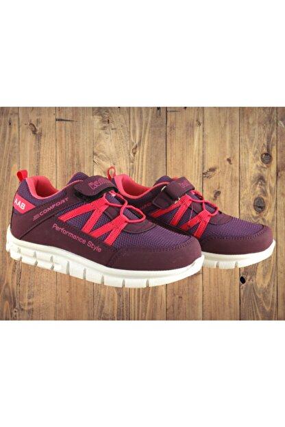 KAS Unısex Bordo Poliüretan Rahat ve Sağlıklı Taban Günlük Spor Ayakkabı