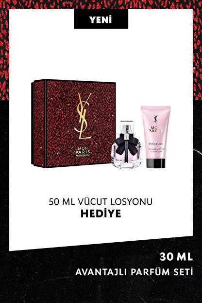 Yves Saint Laurent Mon Paris Eau De Parfum Seti 30 Ml 3614273262415
