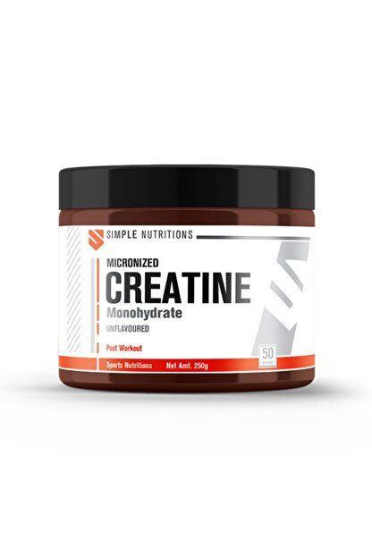 Simple Nutritions Creatine Unflavoured - 250gr