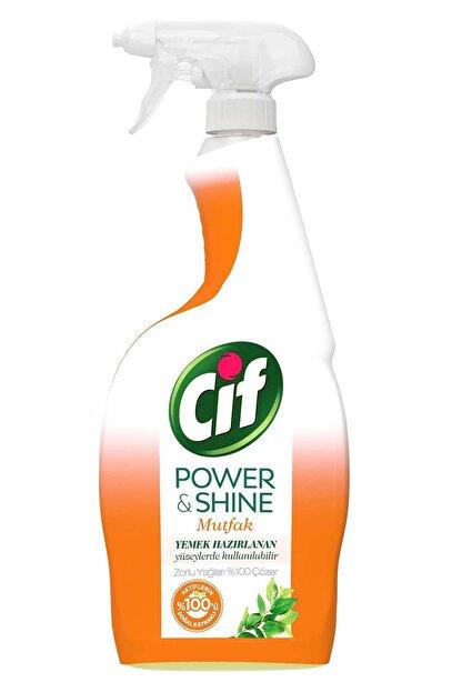 Cif Power & Shine Mutfak Sprey Temizleyici 750 ml