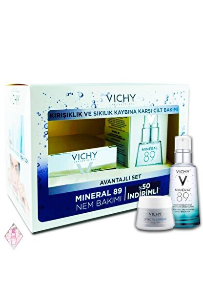 Vichy Liftactiv Supreme Normal - Karma Cream & Mineral 89 30 Ml %50 Indirimli Avantajlı Set