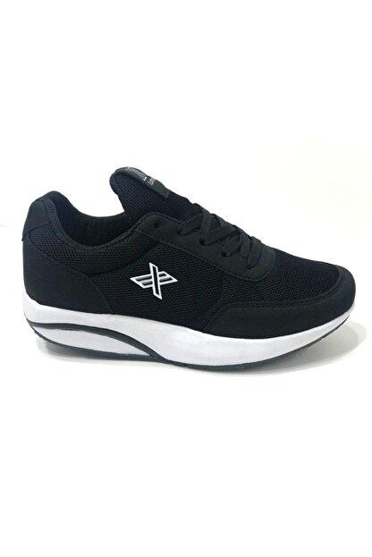 LUTTOON Kadın Siyah Yürüyüş Ayakkabısı