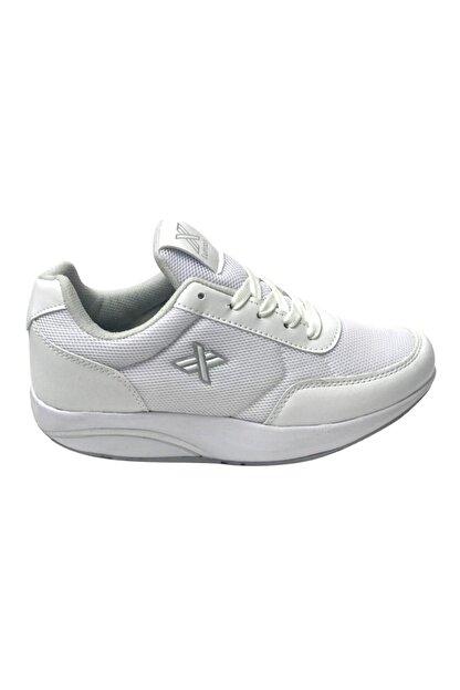 LUTTOON Kadın Beyaz Yürüyüş Ayakkabısı