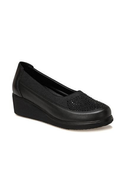 Polaris 103258.Z1FX Siyah Kadın Klasik Ayakkabı 101002737