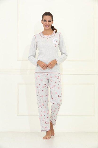Etoile Uzun Kol%100 Pamuklu Pijama Takımı S - 5xl Arası / 98075