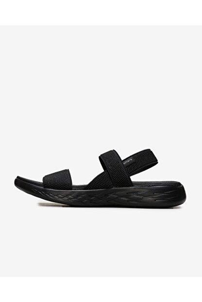 Skechers ON-THE-GO 600 - FLAWLESS Kadın Siyah Sandalet