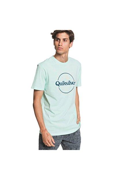 Quiksilver Wordsremainss Erkek Yeşil Günlük Stil Tişört Eqyzt05753-gcz0