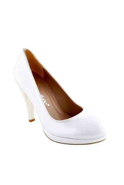 Ayakkabı Tarzım Kırık Beyaz Soft Gova Kadın Ayakkabı Alckc 00569