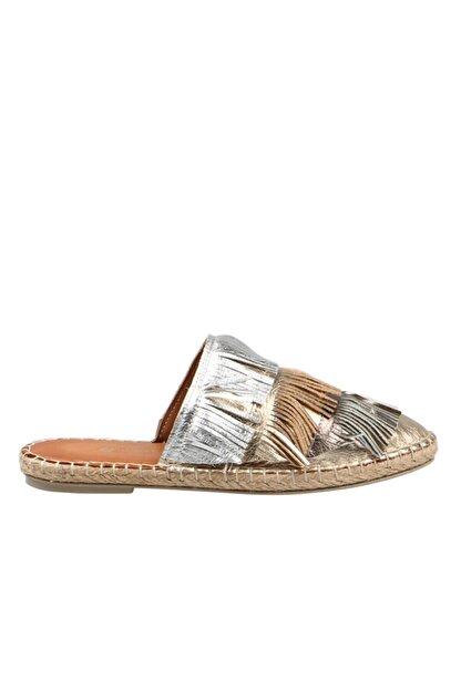 Hammer Jack Altın Kadın Ayakkabı 195 1683-z