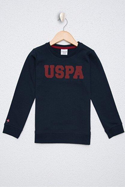 US Polo Assn Lacivert Erkek Çocuk Sweatshirt
