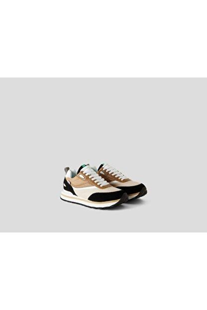 Benetton Kadın Bej Spor Ayakkabı