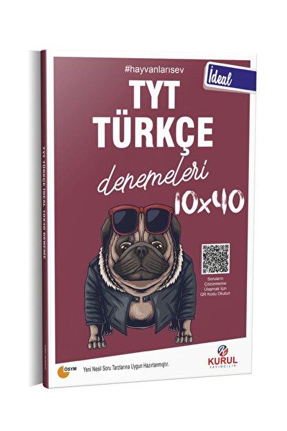 Kurul Yayıncılık 2021 Tyt Ideal 10x40 Türkçe Denemeleri Qr Kod Çözümlü