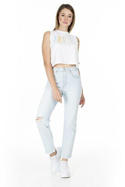 Levi's Kadın Mavi Yüksel Bel Jeans  36200