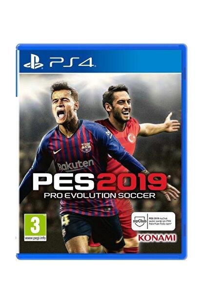 Konami Pes 2019 Ps4 Oyun - Türkçe Menü