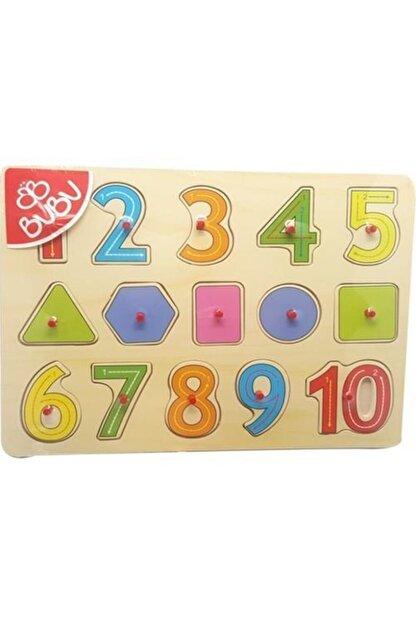 Bubu Ahşap Puzzle Sayılar Ve Geometrik Şekiller