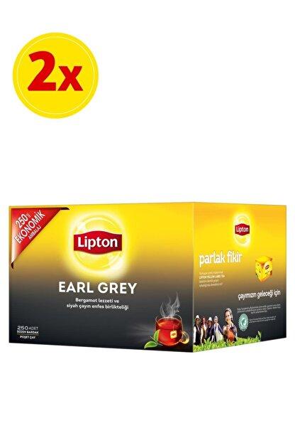 Lipton Earl Grey 250'li Bardak Poşet Çay X 2 Adet