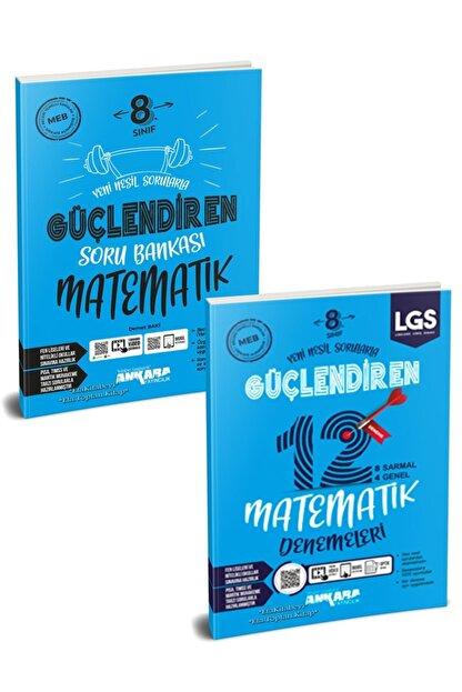 Ankara Yayıncılık Ankara 8. Sınıf Lgs Matematik Soru Bankası & Deneme Seti 2 Kitap Yeni 2021