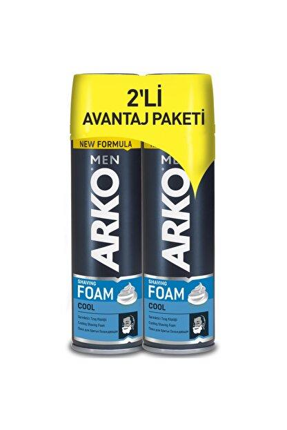 Arko Men Men Tıraş Köpüğü Cool 200 Ml 2 Li Avantaj Paketi