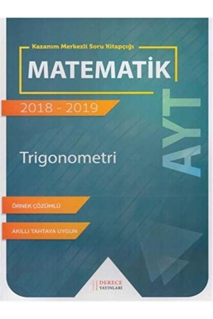 Derece Yayınları Derece Yay Ayt Trigonometri