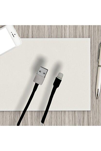 DRCR Iphone Şarj Kablosu Koruyucu Makaron 9 Adet 6 Cm Siyah