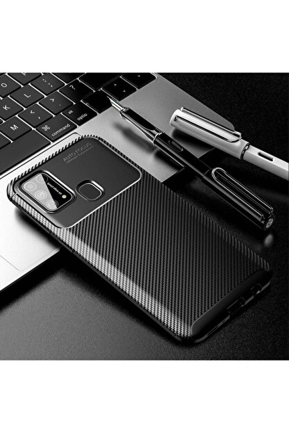 Dijimedia Samsung Galaxy M31 Uyumlu Kaliteli Elde Kaymayan Kamera Korumalı Kılıf