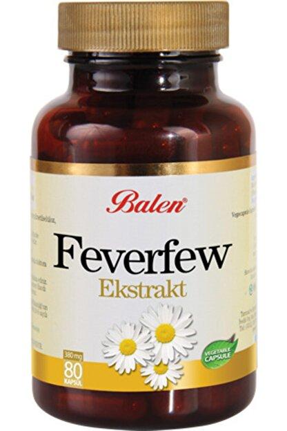 Balen Feverfew (Düğme Çiçeği) Ekstraktı Kapsül 455mg*80