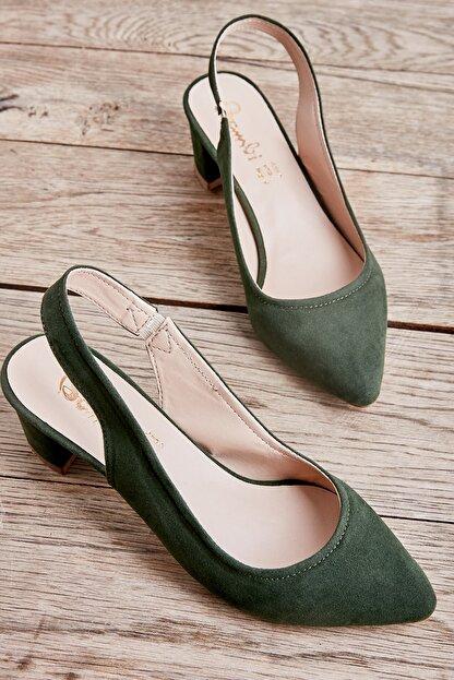 Bambi Koyu Yeşil Kadın Ayakkabı L0503721072