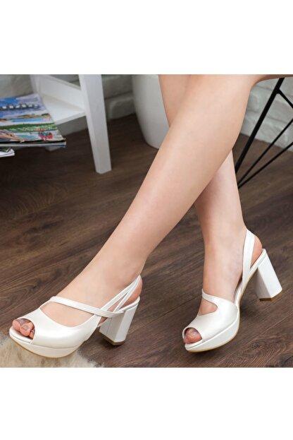 Adım Adım Sedef Yüksek Topuk Abiye Kadın Ayakkabı • A192ymon0001