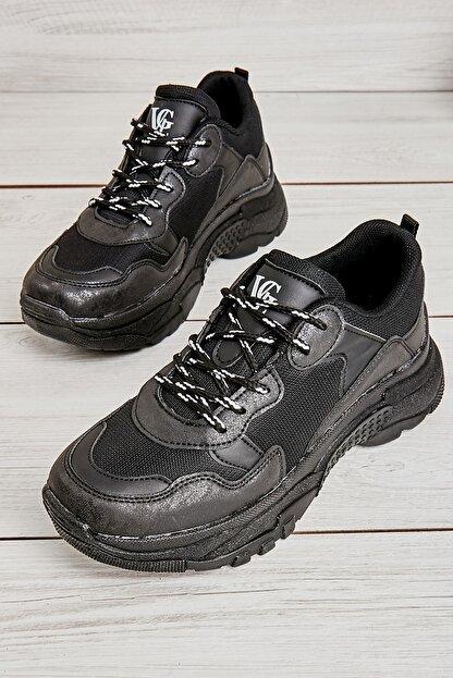 Bambi Sıyah Kadın Sneaker L0613542222
