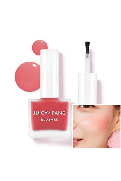 Missha Doğal Görünüm Sunan Nemlendirici Likit Allık 9g. APIEU Juicy-Pang Water Blusher (RD01)