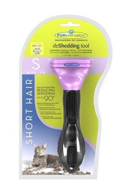 Furminator Tüylü Kediler Için Short Hair Kısa Tüy Tarağı Kedi Trağı S