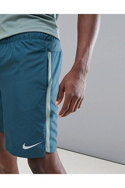 Nike Running Dry Challenger Shots In Yeşil 908800-328